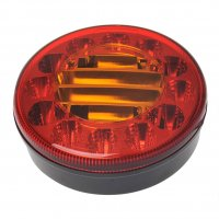 REAR LIGHT 3 FUNCTIONS 122MM 24LED (1PC)