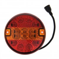 REAR LIGHT 3 FUNCTIONS 140MM 14LED (1PC)