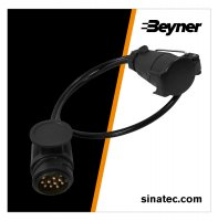12V ADAPTER CONNECTION CABLE 80CM FROM 13- TO 7-POLES (1PC)