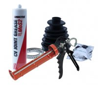 12X DRIVE SHAFT BOOT +24X OETIKER CLAMP +2X TUBE GREASE+ 1X CAULKING GUN (1PC)