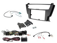 2-DIN KIT BMW (STEERING WHEEL INTERFACE) 3 SERIES / 4 SERIES BLACK (1PC)