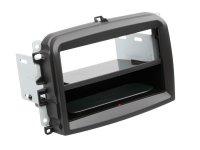 2-DIN PANEL INBAY® FIAT 500L 2012-2019 COLOR: BLACK (1PC)