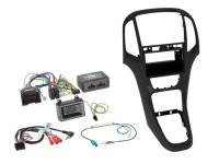 2-DIN WITH POCKET + RADIO ADAPTER KIT OPEL ASTRA 2009-2016 COLOR: PEARL BLACK (1PC)