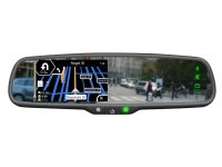 4.3 INCH MIRROR MONITOR INCL. WIN CE NAVIGATION + BLUETOOTH HANDFREE (1PC)