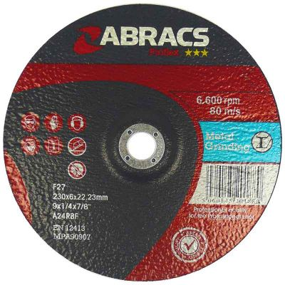 reinforced grinding wheels