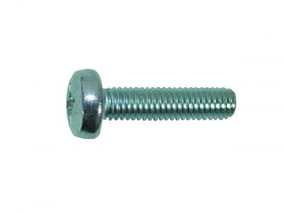 metal screw pan head cross recess