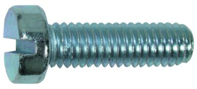 metal screw pan head slotted