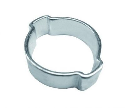 double ear clamp zinc plated