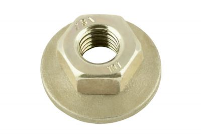 hexagon nut captive washer