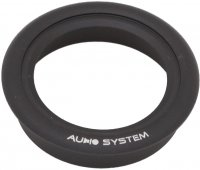 ALU TUNING SET FOR AXLE TWEETER. BLACK ALUMINUM HOLDER FOR HS 25 EVO INSTALL AND DUST (1S