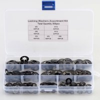 ASSORTMENT CIRCLIPS STARLOCK WITH AND WITHOUT CAP 300-PCS (1 PC)