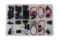 ASSORTMENT CONNECTOR- & HARNESS REPAIR KIT 21-PIECE (1PC)