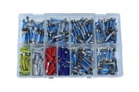 ASSORTMENT GLASS + CERAMIC FUSES 480-PIECE (1PC)