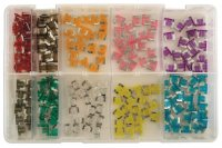 ASSORTMENT MINI FUSES LOW PROFILE 100-PIECE (1PC)