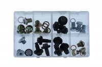 ASSORTMENT SUMP PLUGS UK 24-PIECE (1PC)
