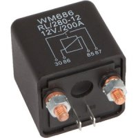 AUDIO SYS. CUT OFF RELAY WITH 200A SWITCH POWER (1PC)