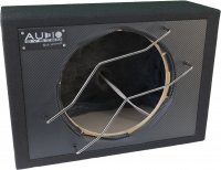 AUDIO SYS. EMPTY HOUSING. CLOSED BOX 32 LITERS FOR 30 CM BASS (1PC)