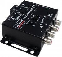AUDIO SYS. HIGH-LOW ADAPTER HLC-4 PLUS FOR OEM RADIO (1PC)