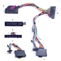 AUDIO2CAR AUDI A6 2004-2011 WITH BOSE 6000 SYSTEM 13 SPEAKERS (AMPLIFIER LEFT REAR) (1