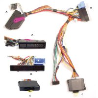 AUDIO2CAR AUDI A8 2006-2010 WITH BOSE SYS. (1PC)