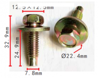 CLIP FORD OE: 384931S36 (10ST)