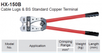 CRIMPING PLIERS FOR UNINSUL STARTER LUGS 25-150MM² (1PC)