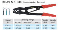 CRIMPING PLIERS FOR UNINSUL STARTER LUGS 6,0-35MM² (1PC)