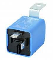 FLASHING LIGHT RELAY 12V MAX 30W LED 2-POLES (1PC)