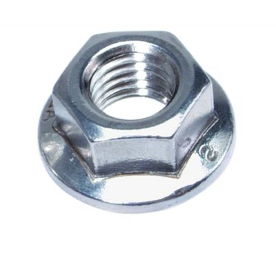 hexagon flange nuts serrated