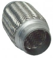 FLEXIBLE EXHAUST PIPE SHORT 40,7X100MM (1PC)