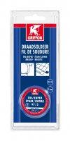 GRIFFON SOUDURE FIL ÉTAIN/CUIVRE 97/3 MS 3MM FPB 100G (1PC)