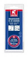 GRIFFON WIRE SOLDER TIN/COPPER 97/3 MS 3MM POT 50G (1PC)