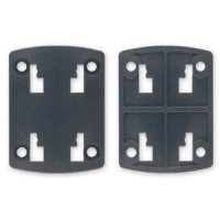 GRILL PLATE 4-HOLE LOCKING SYNTHES, 4 SCREW HOLES (1PC)