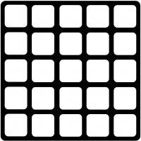 GRIP MODULE VIDE À 25 COMPARTIMENTS (1PC)