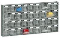 GRIP MULTISTORE MODULE 60X8X30 INCL. 36 TIPPING BINS (1PC)