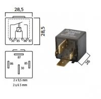 HIGH POWER MAKE RELAY 12V 70A WITH DIODE (1PC)