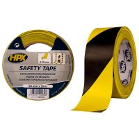 HPX SELF-ADHESIVE TAPE TAPE - YELLOW/BLACK 50MMX33M (1PC)