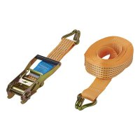 LASHING STRAP WITH RATCHET + 2 HOOKS 8 METERS 5000KG (1PC)