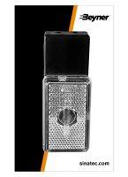 MARKER LAMP WHITE 110X45X51MM (1PC)