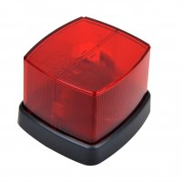 MARKING LAMP RED 66X62MM (1PC)