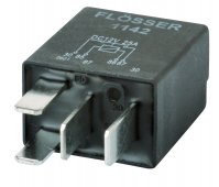 MICRO CONTACT MAKE RELAY 12V 25A WITH DIODE (1PC)