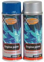MOTIP ENGINE PAINT GLOSS BLACK 400ML (1ST)
