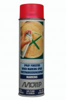 MOTIP WOOD MARKING SPRAY RED 500ML (1PC)