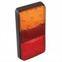 REAR LIGHT 12 / 24V 4 FUNCTIONS 80X150MM LED (1PC)