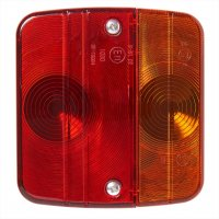 REAR LIGHT 4 FUNCTIONS 98X104MM INCLUDING GLOW LIGHTS (1PC)
