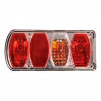 REAR LIGHT 6 FUNCTIONS 222X100MM LEFT (1PC)