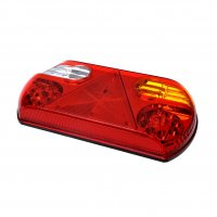 REAR LIGHT 6 FUNCTIONS 296X142MM 32LED RIGHT (1PC)