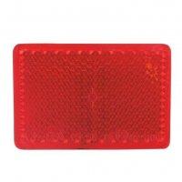 REFLECTOR RED 55X38MM SELF-ADHESIVE (1PC)