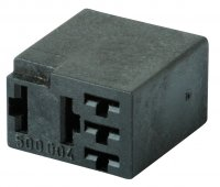 RELAY BASE 6,3 TERMINALS WITHOUT BRACKET 5-POLES (1PC)