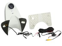 REVERSING CAMERA WHITE SURFACE NTSC WITH FRAME LINES AND IR (1PC)